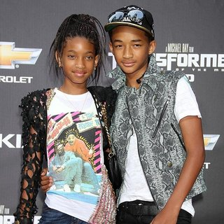 Willow Smith, Jaden Smith in New York Premiere of Transformers Dark of the Moon
