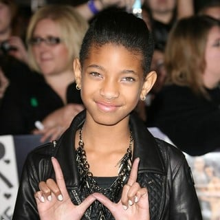 Willow Smith in The Twilight Saga's Breaking Dawn Part I World Premiere