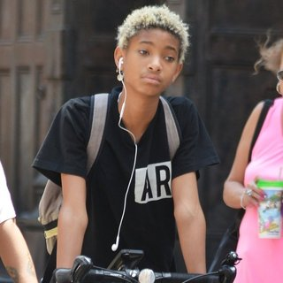 Willow Smith in Willow Smith Spotted Riding Her Bike