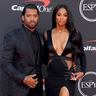 Russell Wilson, Ciara in The ESPYs 2019 - Arrivals