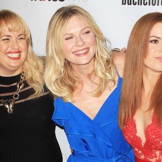 Rebel Wilson, Kirsten Dunst, Isla Fisher in The Premiere of RADiUS-TWC's Bachelorette
