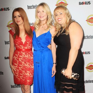 Isla Fisher, Kirsten Dunst, Rebel Wilson in The Premiere of RADiUS-TWC's Bachelorette
