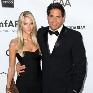 Abbey Wilson, Joe Francis in amfAR 3rd Annual Inspiration Gala