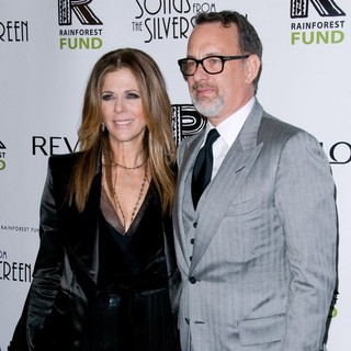 Rita Wilson, Tom Hanks in The 2012 Concert for The Rainforest Fund Afterparty - Arrivals