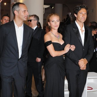 James Wilson, Scarlett Johansson, Jonathan Glazer in 70th Venice Film Festival - Under the Skin - Premiere