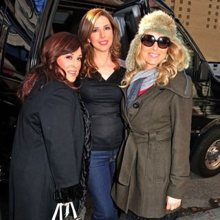 Wilson Phillips Outside The Studio Ahead of An Appearance on The Wendy Williams Show