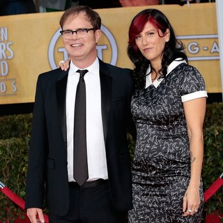 Rainn Wilson, Holiday Reinhorn in 19th Annual Screen Actors Guild Awards - Arrivals