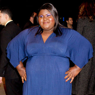 "Gabourey Sidibe in New York Screening of ""Win Win"" - Outside Arrivals"