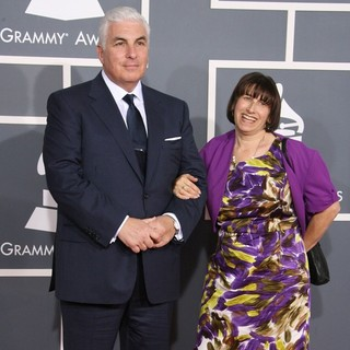 Mitch Winehouse, Janis Winehouse in 54th Annual GRAMMY Awards - Arrivals