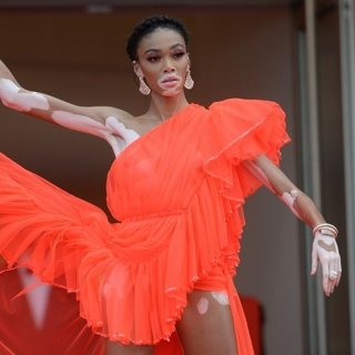 Winnie Harlow in Once Upon a Time in Hollywood Premiere - The 72nd Cannes Film Festival