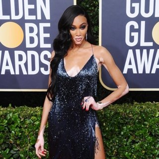 Winnie Harlow in 77th Annual Golden Globes - Arrivals