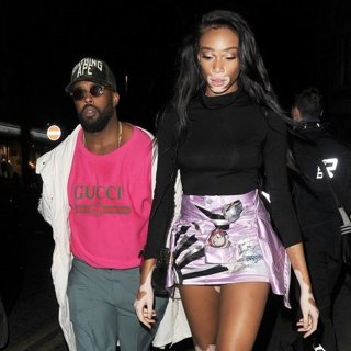 Winnie Harlow-Winnie Harlow Enjoys A Night Out