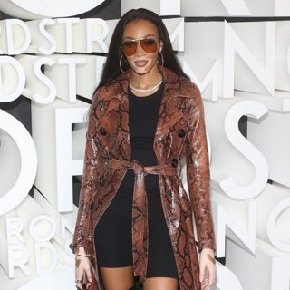 Winnie Harlow in Nordstrom Flagship Opening Party