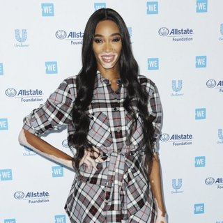 Winnie Harlow in We Day California 2019