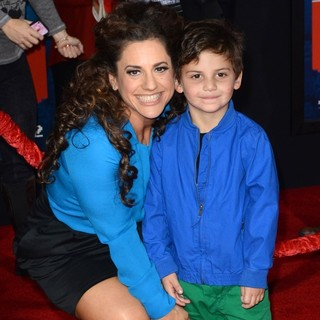 Marissa Jaret Winokur, Zev Isaac Miller in The Los Angeles Premiere of Wreck-It Ralph - Arrivals
