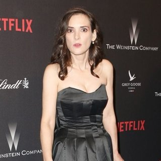 Winona Ryder in The 2017 Weinstein Company and Netflix Golden Globes After Party
