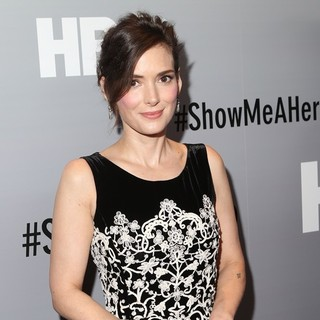 Winona Ryder in New York Premiere of HBO's Show Me a Hero - Red Carpet Arrivals