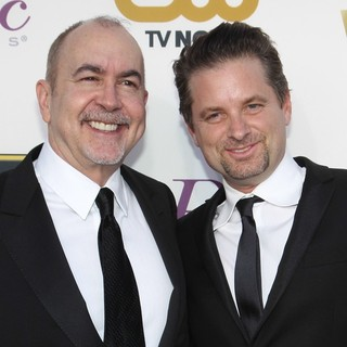 Terence Winter, Shea Whigham in The 19th Annual Critics' Choice Awards