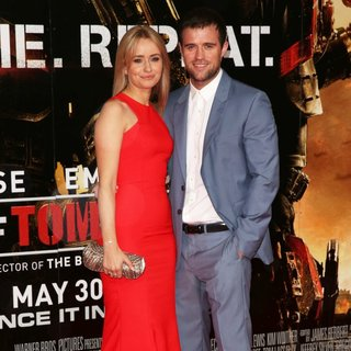 Sammy Winward, Jonas Armstrong in World Premiere of Edge of Tomorrow - Arrivals