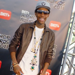 Wiz Khalifa in BET Hip Hop Awards 2011 - Arrivals