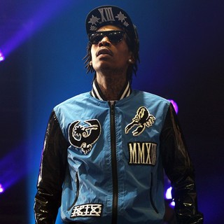 Wiz Khalifa in Wiz Khalifa Performing on Stage