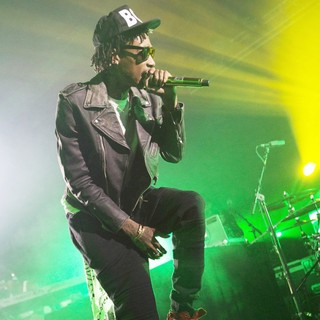 Wiz Khalifa in Wiz Khalifa Performs Live in Concert