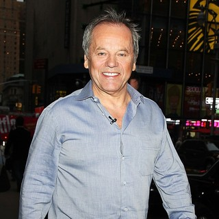 Wolfgang Puck Arrives at The Good Morning America Studios
