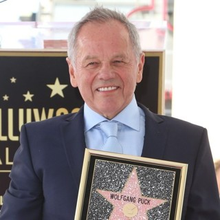 Wolfgang Puck-Wolfgang Puck Honored with Star on The Hollywood Walk of Fame