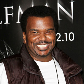 Craig Robinson in Premiere of 'The Wolfman' - Red Carpet