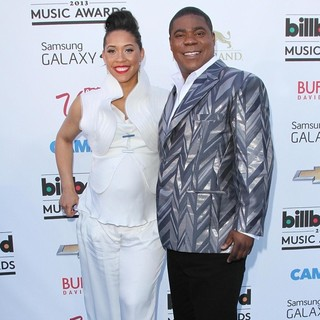 Megan Wollover, Tracy Morgan in 2013 Billboard Music Awards - Arrivals
