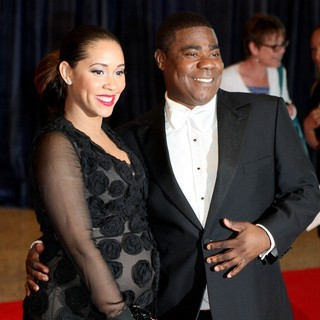 Megan Wollover, Tracy Morgan in 2013 White House Correspondents' Association Dinner - Arrivals