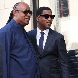 Stevie Wonder, Babyface in Babyface Honored with A Walk of Fame Star Ceremony