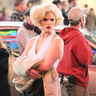 Willam Belli in Filming in Hollywood on The Set of 'Wonder Woman'