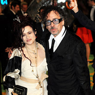 Helena Bonham Carter, Tim Burton in 'Alice in Wonderland' UK Premiere - Arrivals