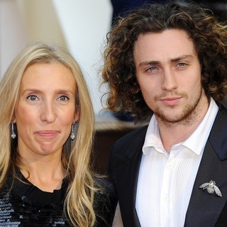 Sam Taylor-Wood, Aaron Johnson in The Premiere of Anna Karenina