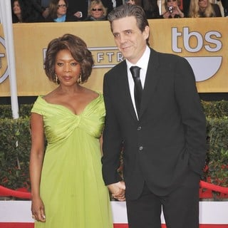 Alfre Woodard, Roderick Spencer in 19th Annual Screen Actors Guild Awards - Arrivals