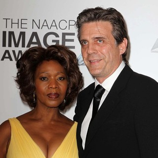 Alfre Woodard, Roderick Spencer in The 44th NAACP Image Awards