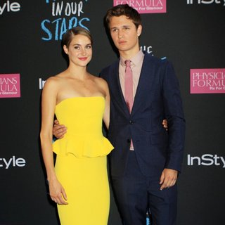 Shailene Woodley, Ansel Elgort in Premiere of The Fault in Our Stars