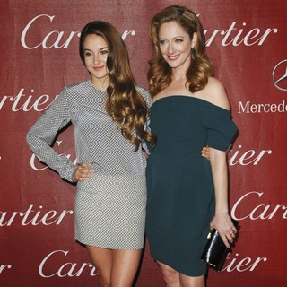 Shailene Woodley, Judy Greer in The 23rd Annual Palm Springs International Film Festival Awards Gala - Arrivals