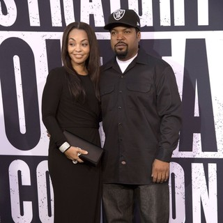 Kimberly Woodruff, Ice Cube in World Premiere of Universal Pictures' Straight Outta Compton - Arrivals