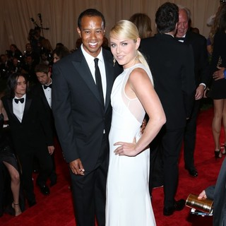 Tiger Woods, Lindsey Vonn in PUNK: Chaos to Couture Costume Institute Gala