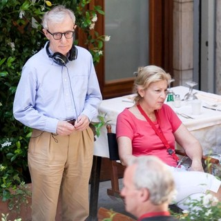 Woody Allen in On The Set of New Film The Bop Decameron - woody-allen-set-the-bop-decameron-01