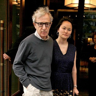 Woody Allen, Soon-Yi Previn in The Screening of Midnight in Paris