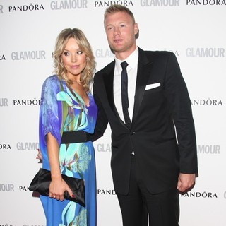 Rachel Wools, Andrew Flintoff in The Glamour Women of The Year Awards 2012 - Arrivals
