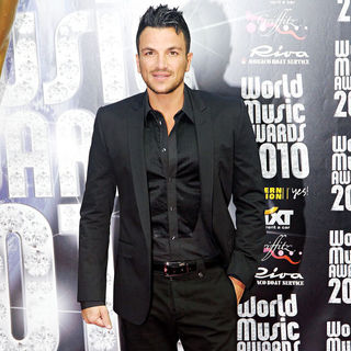 Peter Andre in 2010 World Music Awards - Arrivals