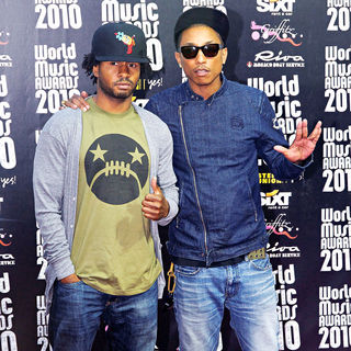 Pharrell Williams in 2010 World Music Awards - Arrivals