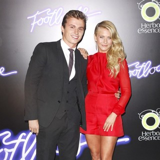 Kenny Wormald, Julianne Hough in Los Angeles Premiere of Footloose