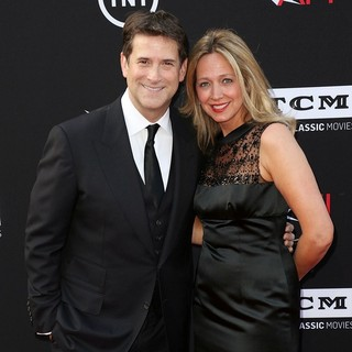 Michael Wright (II), Tammi Chase in 41st AFI Life Achievement Award Honoring Mel Brooks - Red Carpet