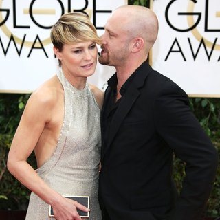 Robin Wright Penn, Ben Foster in 71st Annual Golden Globe Awards - Arrivals