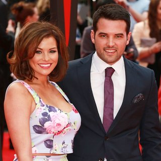 Jessica Wright, Ricky Rayment in World Premiere of The Amazing Spider-Man 2 - Arrivals